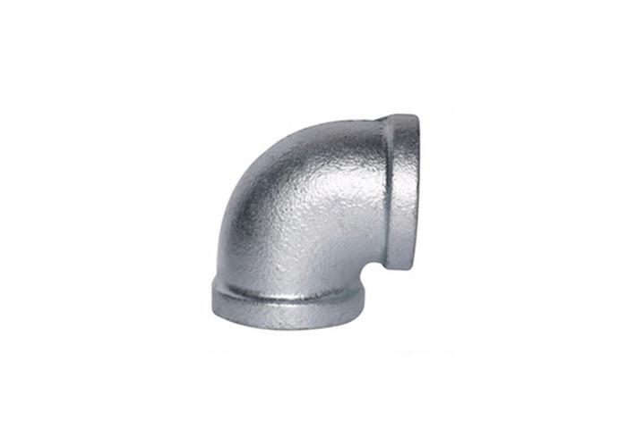 Bs Standard 90 Side Outlet Elbow , Galvanized Pipe Elbows Zinc Plated Surface
