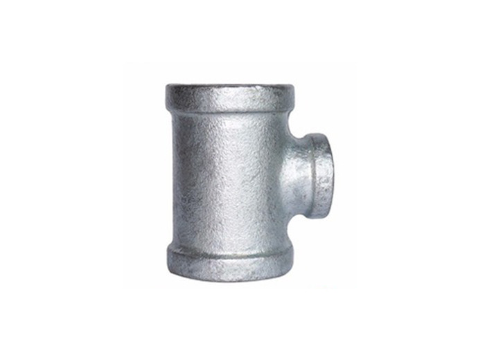 China Supplier Malleable Iron Galvanized Pipe Fittings reducing tee