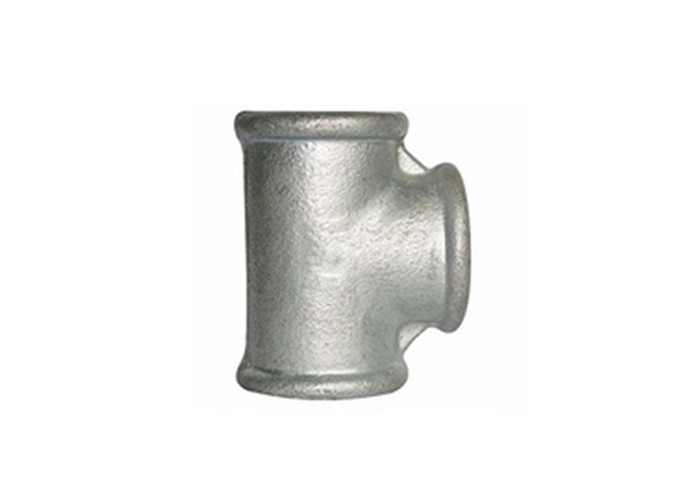 Carbon Steel Reusable Hydraulic Tube Fittings Reducing Pipe Tee No Leakage