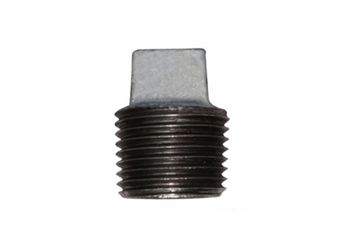 Zinc Coated 1 8 Npt Pipe Plug , Waste / Drain Pipe Plug Shock Absorption