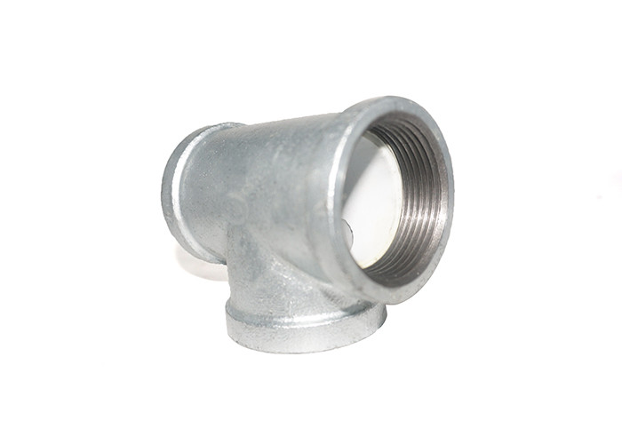 DIN Standard Plastic Gas Pipe Fittings Plastic Pipe Tee Corrosion Resistance
