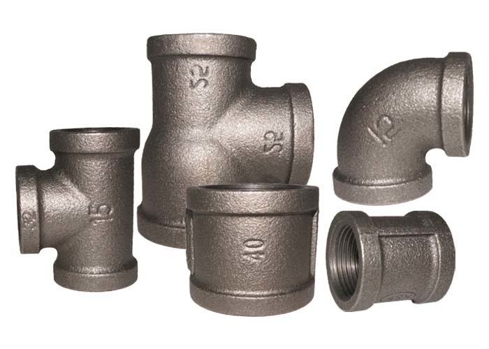 Threaded Cast Iron Quick Connect Tee 1.6Mpa Working Pressure Stable Performance